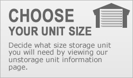 Appleton Storage - Choose your storage unit size