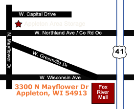 Appleton Storage Location